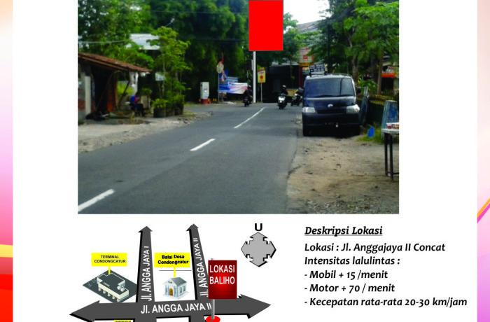 Titik Baliho Jl Anggajaya II