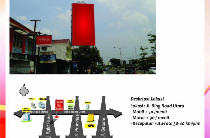 Titik Baliho Jl. Ringroad Utara (dekat JIH)