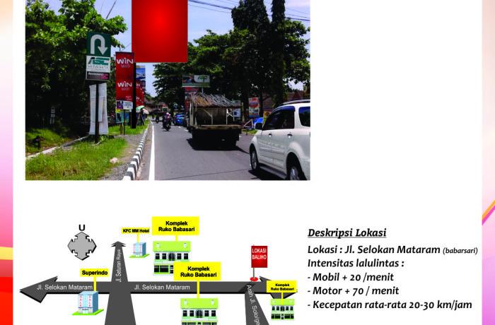 Titik Baliho Jl.Selokan Mataram